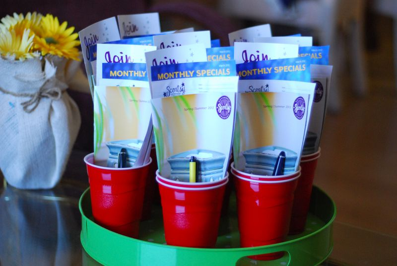 Scentsy Home Party Ideas http://kellylanley.typepad.com/skinnygirls/2012/03/red-solo-cup-scentsy-party-the-party-version.html