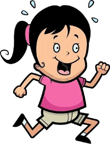 A-happy-cartoon-girl-running-and-smiling1